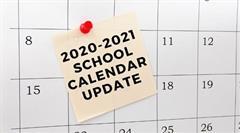 Information For Parents: Calendar Updates