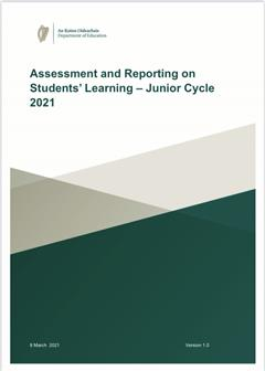Guidance on Junior Cycle Assessment 2021